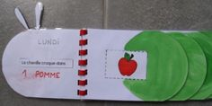 livre 2 Eric Carle, Very Hungry Caterpillar, Ms Gs, Diy And Crafts, Kindergarten, Butterfly, Jeanne, Montessori, Authors