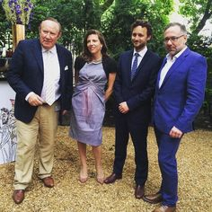 Apollo's summer party and the launch of Apollo Collector Services is underway. Celebrating with Chairman Andrew Neil editor Thomas Marks and sponsors Helen Macintyre and Paul Ress. For more on Apollo Collector Services with Macintyre Art Advisory and Right Capital see http://specc.ie/29qPNe6