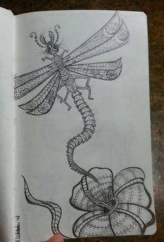"""Mechanical Dragonfly"" By Kristie Whitaker"