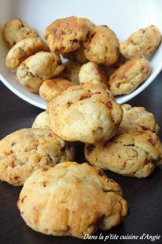 Cookies parmesan, chorizo