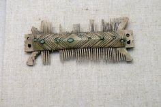 Ancient Roman Comb, 4th/5th Century AD, Roman Museum Kastell Boiotro