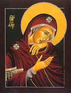 Theotokos icon, by William Hart Nichols