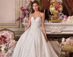 eac89e2402d3 Bridal Gown Demetrios Platinum - Style AUDRA Beautiful Wedding Gowns, Dream  Wedding, Lace Decor