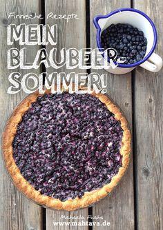 MAHTAVA! Der Finnische Food & Design Blog: Rezepte E-Book: Mein Blaubeersommer