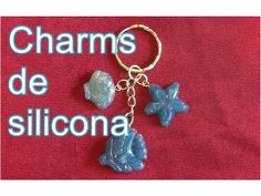 Cómo hacer charms con silicona caliente/ Charms with hot glue - YouTube