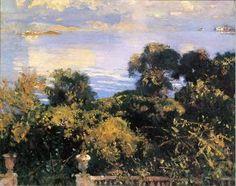 John Singer Sargent - Oranges at Corfu 1909 - The Athenaeum