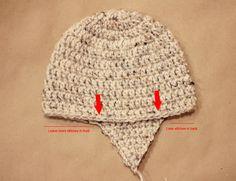 Free Earflap Hat Pattern (Sizes Newborn to Adult) ✿⊱╮Teresa Restegui http://www.pinterest.com/teretegui/✿⊱╮