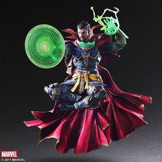 Marvel Universe Doctor Strange Variant Play Arts Kai Action Figure
