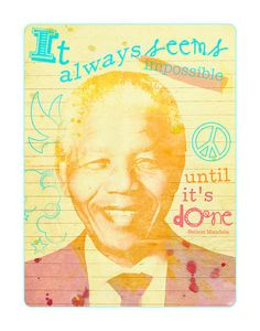 Happy Birthday Nelson Mandela! You are an inspiration to us all #InspiredForTheFuture
