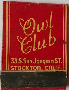 OWL CLUB STOCKTON CALIF
