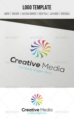 Creative Media Logo Template  #GraphicRiver         Features:   CMYK colors  300 DPI  Layered PSD files  Organized layers  Vector Shapes (Resizable)  100% Editable – each element can be edited  Easy to change colors   Included:   1 PSD file  1 PDF Help file   Free Fonts:   Nexa here  Open Sans here  If you have any question please contact me via my profile.     Created: 20September13 GraphicsFilesIncluded: PhotoshopPSD Layered: Yes MinimumAdobeCSVersion: CS4 Resolution: Resizable Tags: clean…