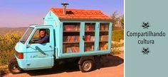 Biblioteca móvel na Italia