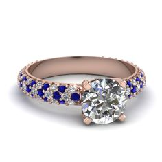 rose-gold-round-white-diamond-engagement-wedding-ring-with-blue-sapphire-in-shared-prong-set-FDENR7382RORGSABL-NL-RG
