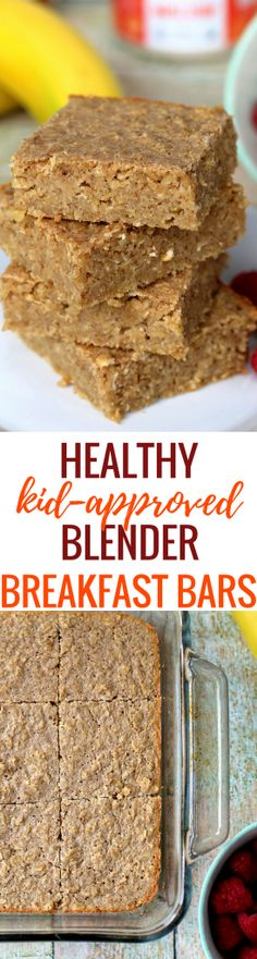 Peanut Butter Fingers - Living a Life Fueled by Healthy Food and Fitness Breakfast Bars, Make Ahead Breakfast, Healthy Breakfast Recipes, Healthy Recipes, Breakfast Ideas, Healthy Food, Healthy Treats, Eating Healthy, Baby Recipes