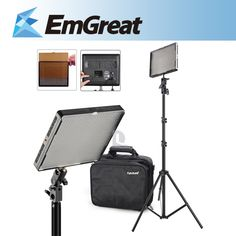 206.10$  Watch here - http://alihab.worldwells.pw/go.php?t=1963872111 - Original Aputure Amaran AL-528S LED Video Studio Light Lamp Continuous Photography Light For Camera DSLR + 6.5ft Lighting Stands