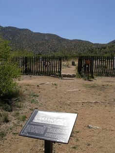 Cemetery at Fort Bowie. Stay at Hummingbird Ranch $695WK SE Arizona  Scenic Ranch. http://vacationhomerentals.com/68121