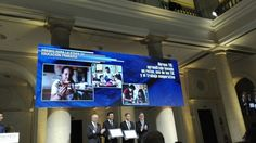 Dos profesores del Colegio San Gregorio de Aguilar, Javier Ramos y  Julián Sanz, reciben el Premio Giner de los Ríos