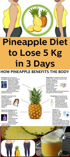 Fast Weight Loss With The Pineapple Diet Plan - Health Tips & Tricks Weight Loss Plans, Fast Weight Loss, Healthy Weight Loss, Lose Weight, Pineapple Diet, Pineapple Benefits, Fruit Benefits, Health Benefits, Easy Diet Plan