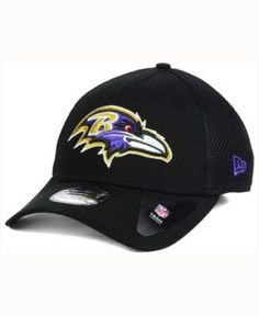 New Era Baltimore Ravens Mega Team Neo 39THIRTY Cap - Black L/XL