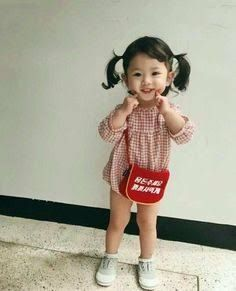 So Cute Baby, Baby Kind, Cute Kids, Baby Baby, Cute Toddlers, Fashion Kids, Baby Girl Fashion, Toddler Fashion, Fashion Fashion