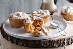 If it's toffee apple pie, it's worth indulging - these ones create wonderful aromas that fill the whole home.
