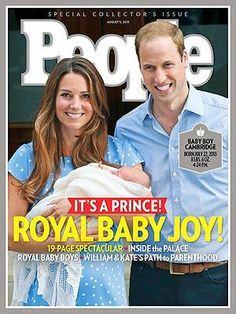 ON NEWSSTANDS: Royal Baby Joy! All About the Prince of Cambridge! http://www.people.com/people/package/article/0,,20395222_20719825,00.html