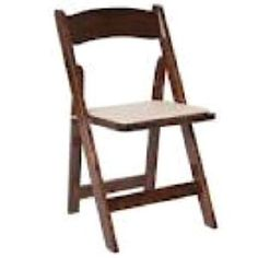 sonoma crossback chairs. rent them from a diamond rental location