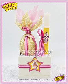 #πασχαλινεςλαμπαδες #πασχαλινεςλαμπαδες2020 #λαμπαδα #λαμπαδες  #eastercandles #ηπρωτημουλαμπαδα #babycandle #λαμπαδαγιαμωρα #υπερηρωες #superheroes Gift Wrapping, Superhero, Gifts, Diy, Paper Wrapping, Presents, Do It Yourself, Bricolage, Wrapping Gifts