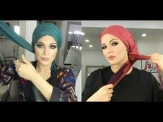 One Side Turban Tutorial - Tutoriel Turban simple et rapide Hijab 2017, Mode Hijab, Turban Tutorial, Hijab Style Tutorial, Muslim Fashion, Hijab Fashion, Turkish Hijab Style, How To Wear Hijab, Simple Hijab