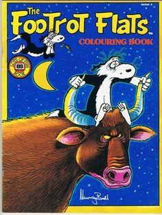 The Footrot Flats Colouring Book Murray Ball 1987 Coloring Rare