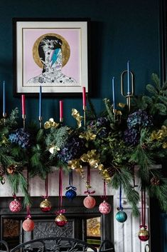 Christmas Floral Trends by Hayford Rhodes - interview by Evolve Events Dark Christmas, Christmas Trends, Christmas Mantels, Christmas Mood, Christmas Design, Christmas Inspiration, All Things Christmas, Christmas Wreaths, Christmas Crafts