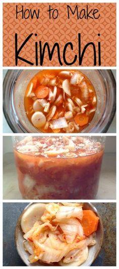 How to Make Kimchi ~ The wonderful, spicy, fermented Korean condiment! www.growforagecoo...