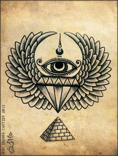 Some Illuminati shit. Nic Tharpa Cartier 2012.