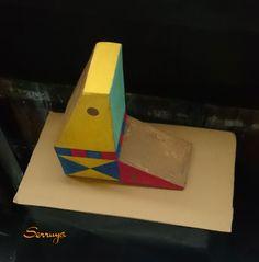 Mi homenaje a Xul Solar en el mes aniversario de su nacimiento! #arte #XulSolar #art #artesvisuales #artesvisuais #visualarts #arts #artes #bellasartes #finearts #escultura #kunst #konst #sculpture #scultura #skulptur #artesplásticas #valeriaserruya #ArtistaArgentino #ArteArgentino