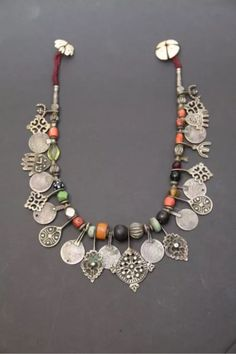 Berber Necklace ~ Morocco                                                                                                                                                                                 More
