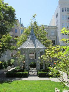 Hidden Garden, Church Design, Open Up, Landscape Architecture, Gates, The Neighbourhood, Twin, San Francisco, Landscapes