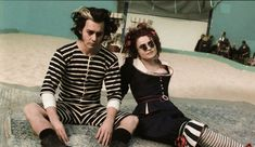 Helena Bonham Carter rehearsed her songs while practicing baking techniques in order to perfect the quick, syncopated rhythm of the music.    Sweeney Todd: The Demon Barber of Fleet Street (2007)