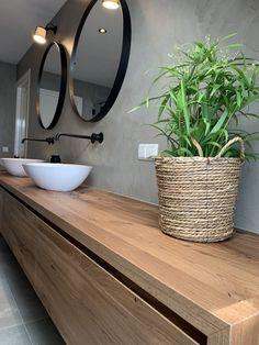 Modern Shower, Modern Bathroom, Master Bathroom, Bathroom Design Luxury, Bathroom Design Small, Lavabo Exterior, Concrete Bathroom, Bathroom Design Inspiration, Contemporary Kitchen Design