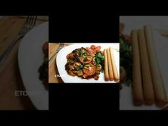 Γαρίδες σαγανάκι, ο απόλυτος καλοκαιρινός μεζές!!! Saganaki shrimp, the ... Asparagus, Feta, Food Ideas, Food And Drink, Vegetables, Studs, Vegetable Recipes, Veggies