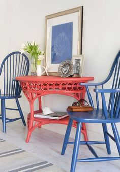 Classic Coastal Style | Maine Cottage - painting for anywhere. Color scheme