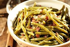 Southern Slow Cooker Green Beans - Southern Bite