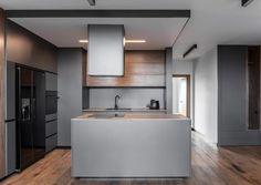 Мужская квартира со стильным интерьером