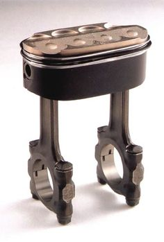 Honda NR500 oval piston. The Honda engineers said that the biggest challenge were the oval piston rings