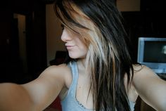 mom said i have to wait til after state, but im doing this with my hair <3