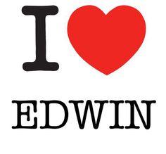 I Heart Edwin #love #heart