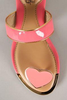 Leanna-01 Heart Ornament Toe Ring Flat Sandal $16.20