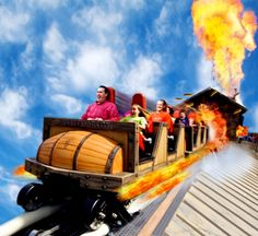 PowderKeg at Silver Dollar City! #rollercoaster #powderkeg