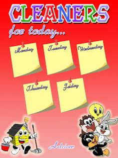 deped classroom cleaners of the day chart - Yahoo Image Search Results Birthday Chart Classroom, Owl Theme Classroom, Classroom Charts, Classroom Bulletin Boards, Classroom Calendar, Classroom Rules Poster, Classroom Signs, Classroom Quotes, Bulletin Board Design