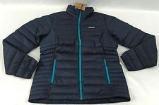 Patagonia Women's Down Sweater Jacket 800 Fill Goose Epic Navy Blue $229 Size M