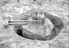 Sand castle.